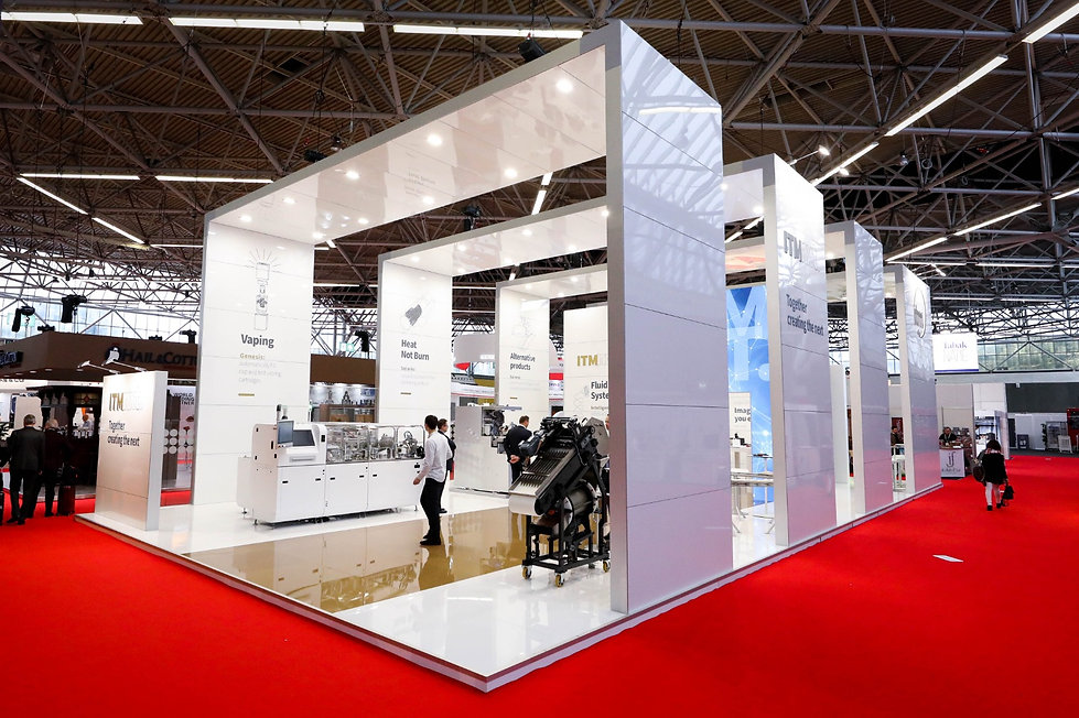 ITM exhibition stand