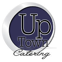 uptown catering round logo