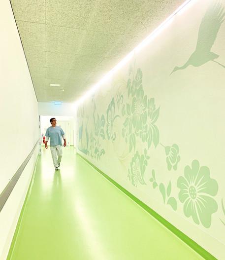 Spital Affoltern Korridor