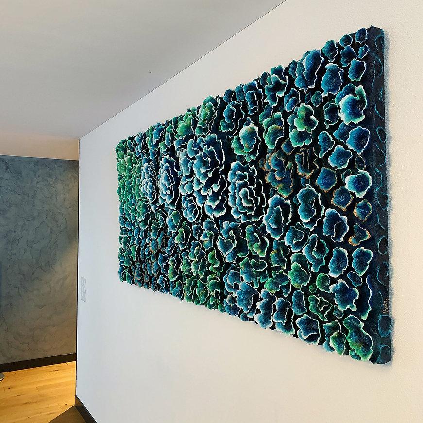 Claudia Ruiz Art, Coral Art,