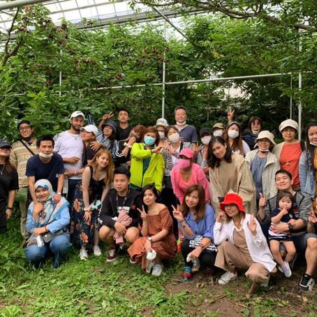 Cherry-picking & Heidi's Farm Tour