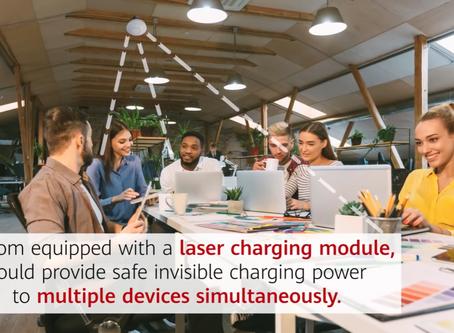 Huawei Patentó Un Sistema De Carga Láser.