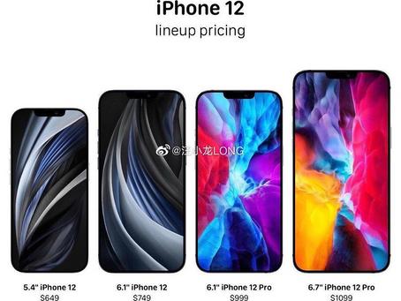 Los nuevos iPhone 12 se renuevan por completo.