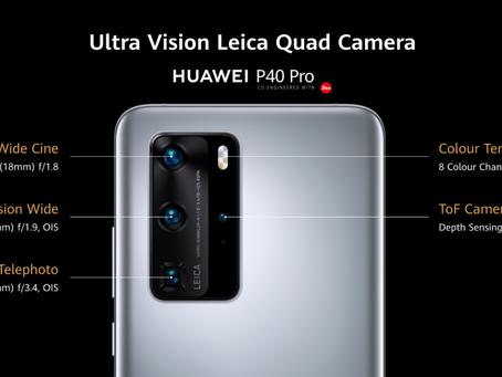 El Huawei P40 Pro se Lanzó en Colombia Oficialmente.