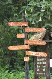 Arrows and Distances from Los Jardines de Mandor