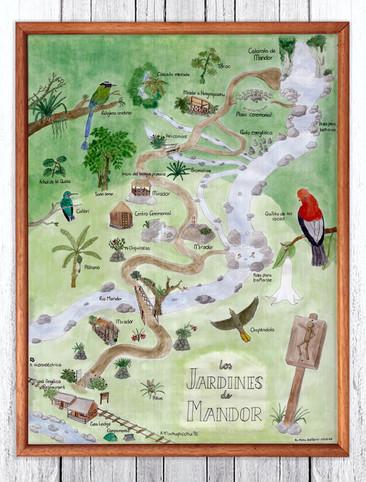 Mandor Gardens Map