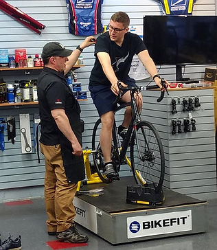 BikeFit bike sizing
