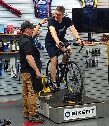 BikeFit bike sizing