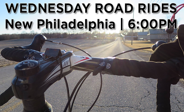Every Wednesday Road Rides | New Phila | 6:00PM