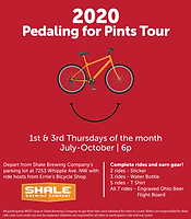Pedal for Pints Shale Brewing Co.