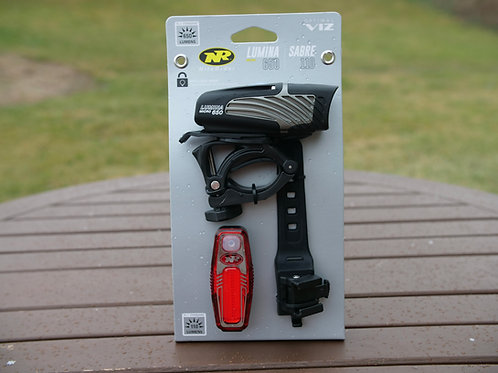 NiteRider Lumina 650/Sabre 100 Headlight/Taillight Set