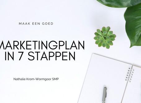 Marketingplan in 7 stappen