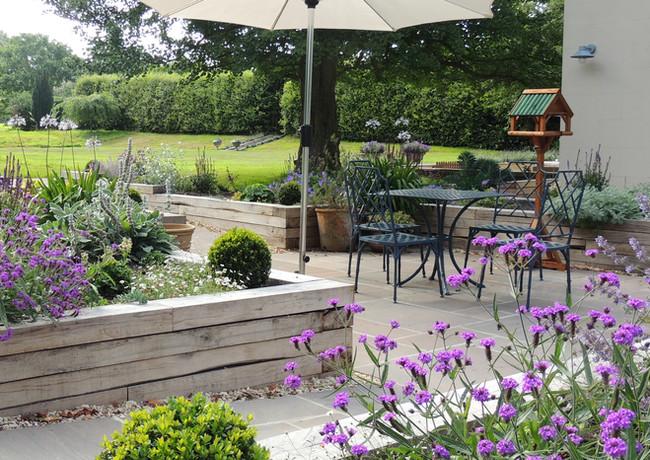 Accessible retirement garden