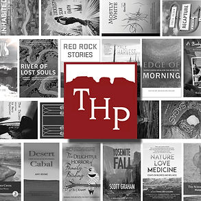 THP Logo and Books Collage