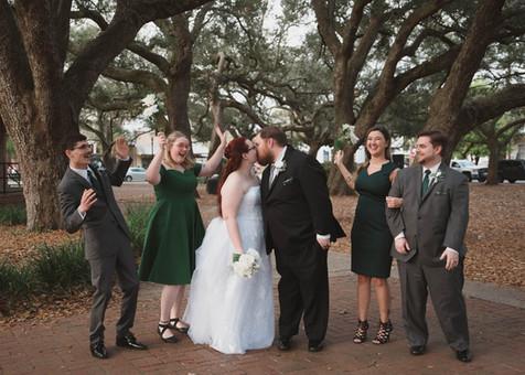 Downtown Pensacola Florida Wedding