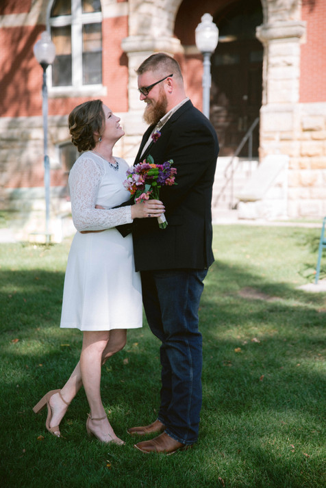 Downtown Howell Wedding