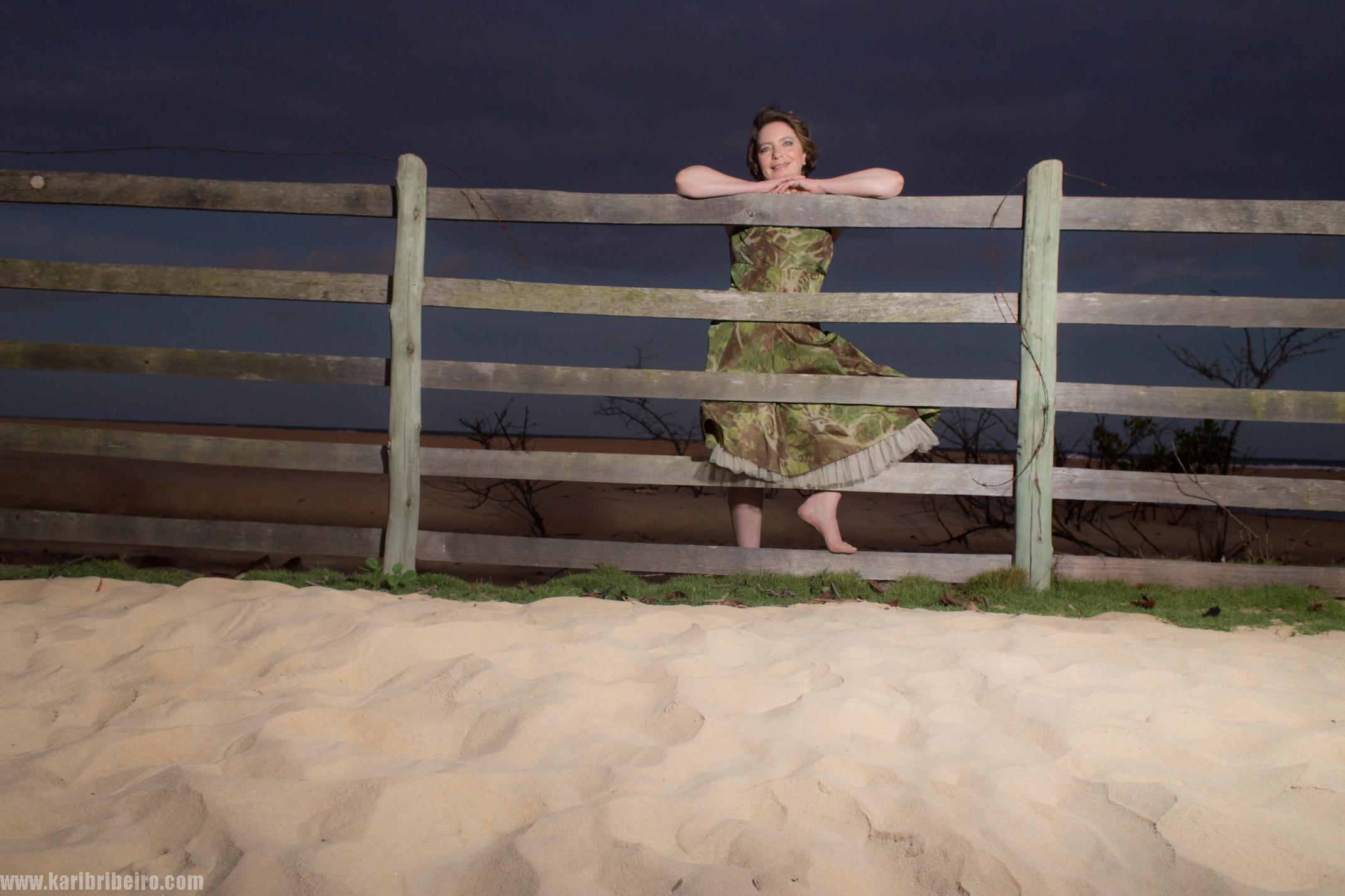 Soprano Julia Thornton in Trancoso