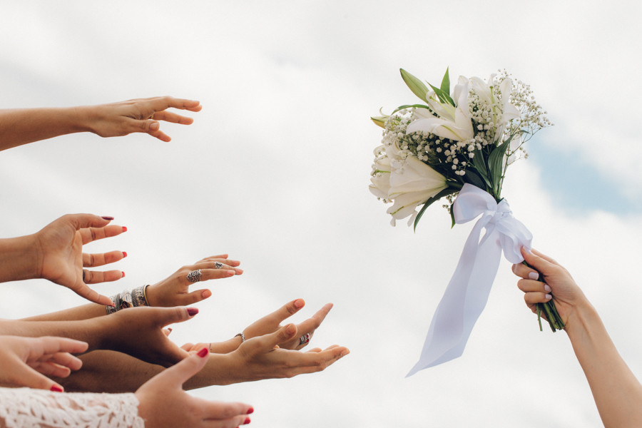 the bouquet goes to...