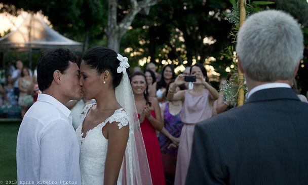 Casamento Aiala e Wladimir Umezu Pousada Jacaré do Brasil  Quadrado de Trancoso  Bahia - Brasil  Mar 2013