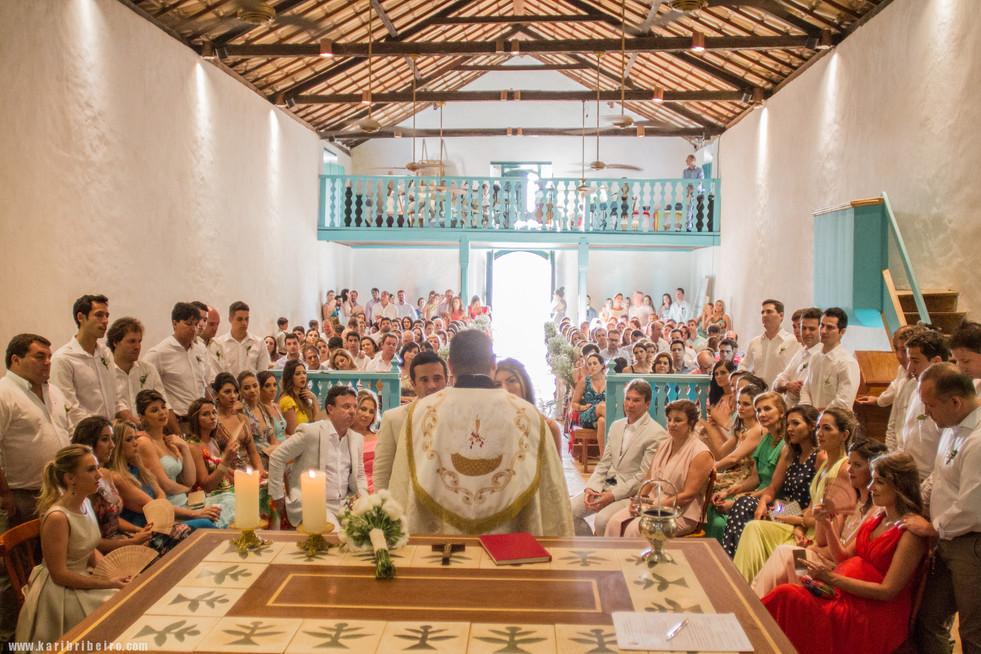 Casamento Patty e Lucas  Igreja São João Batista  Quadrado de Trancoso Out 17th 2015