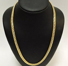 14K Yellow Gold Miami Cuban Chain