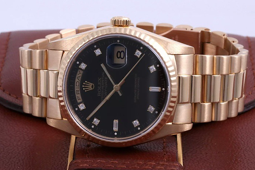 Rolex Day Date Rose Gold 18k