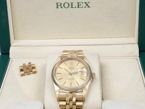 Rolex Datejust 16018 36mm 18K Solid Gold