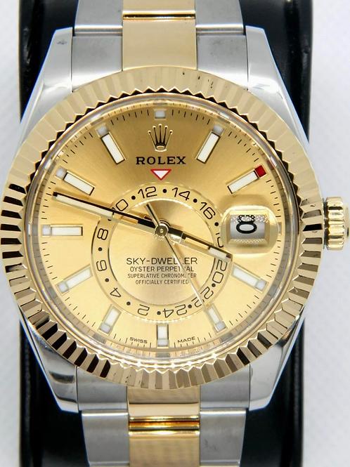 Rolex Sky Dweller Yellow Gold/SS 326933
