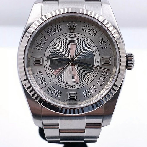 Rolex 116034 Oyster Perpetual Concentric Dial Stainless Steel