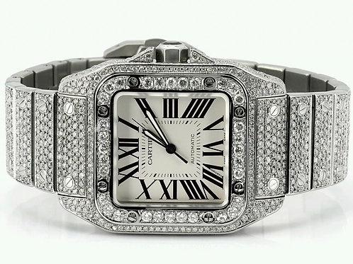 Cartier Santos 100XL Over 20 carats