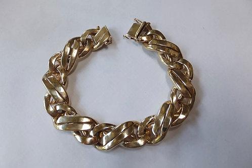 Custom Miami Cuban Link Bracelet 14K