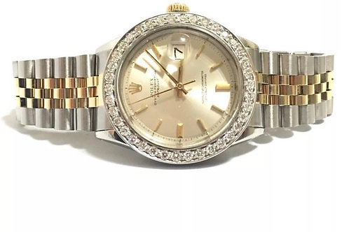 Rolex 14k Yellow Gold/Stainless steel two tone Datejust 36mm