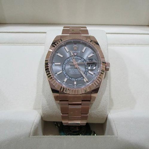 Rolex Sky Dweller Rose Gold 326935
