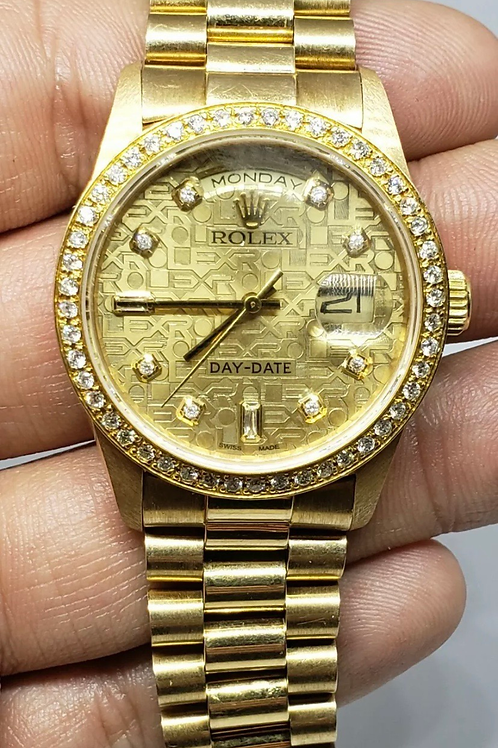 Rolex Presidential Day Date 18238 36mm