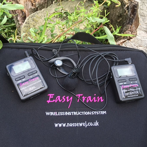 Easy Train One Way Wireless Communication Horse Instruction System