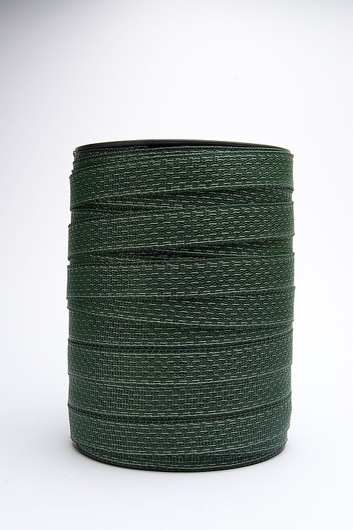 Professional 250 meters 40mm Tape Green