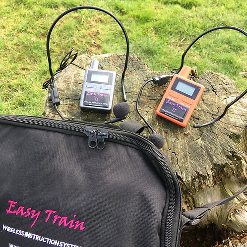 Easy Train Two Way Wireless Communication Horse Instruction System