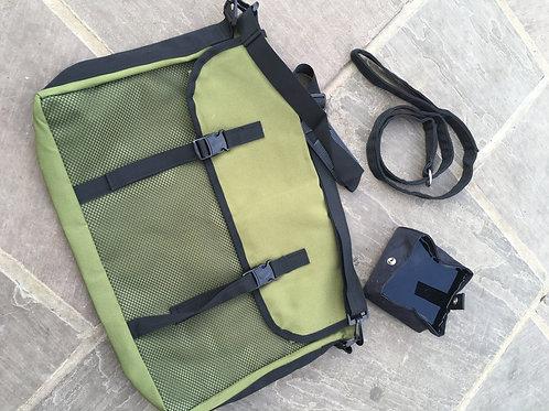 Large Game Bag, Folding Water Bowl & Slip Lead