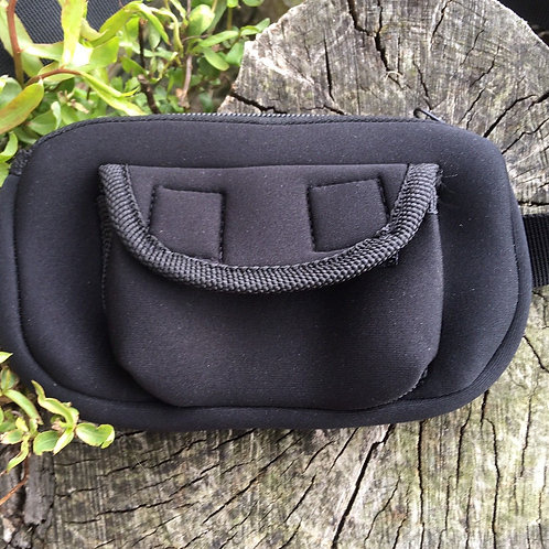 Neoprene Plaiting Pouch with Belt Loop (Black)
