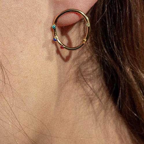 Boucles d'oreille Jelly