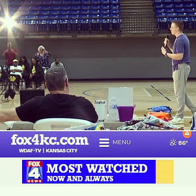 Here's a snapshot from Fox 4 News during