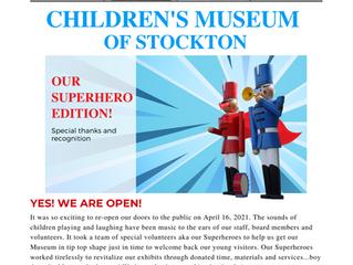 June 2021 Newsletter: Superhero Edition!