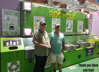 Recycling Exhibit came back to life!