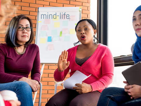 A Mind-Life legacy: A community of people who support each other to support others