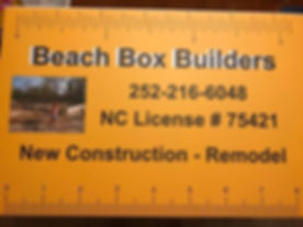 Beach Box Builders of the Outer Banks