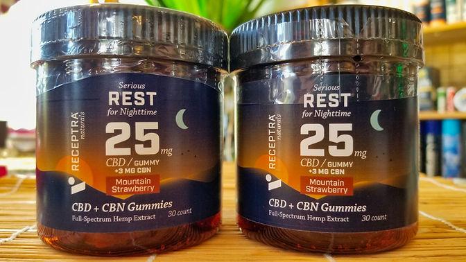 Rest 25 CBD Gummies MotherEarth Key Larg