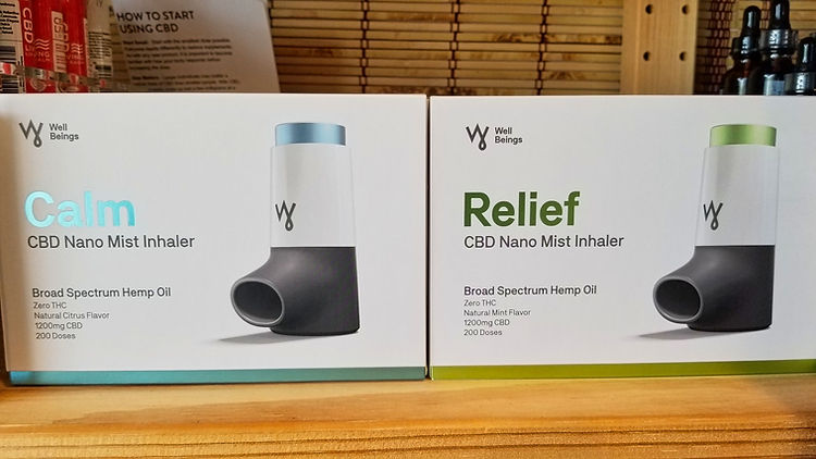 CBD Nano Mist Inhaler Mother Earth Key L