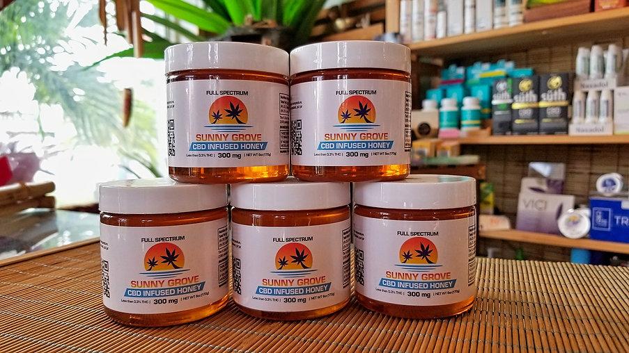 Sunny Grove CBD Honey Mother Earth Key L