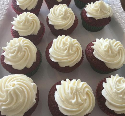 Homemade Red Velvet Cupcakes
