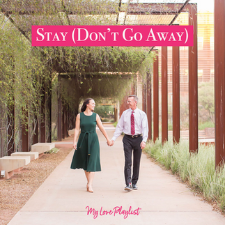 Stay (Don't Go Away) by David Guetta featuring RAYE – My Love Playlist